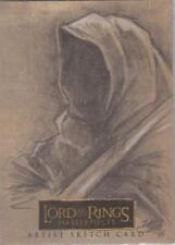 """Lord of the Rings Masterpieces -  Matthew Goodmanson """"Ringwraith"""" Sketch Card"""