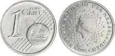 Niederlande 1 Cent 2003 Probe auf unmagnetischen dickem Kupfer-Nickel Schrötling