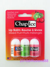 New!!! OraLabs Chap Ice Mixed Fruit Lip Balm 3 Stick X 3 Flavors