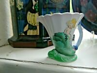 A STUNNING SHELLEY HILDA COWHAM ,MERMAID JUG, EXCELLENT CONDITION