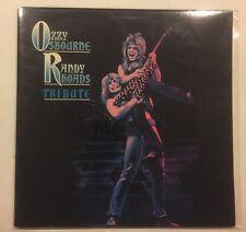 Ozzy Osbourne Randy Rhoads Tribute 2 X LP Gatefold CBS 1987 Rock Metal. Promo