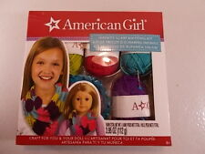 New American Girl Infinity Scarf Knitting Kit For You & Your Doll Craft Yarn