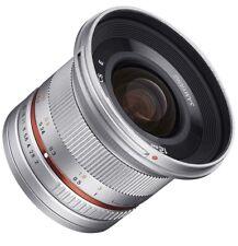Samyang SY12M-MFT-SIL 12mm F2.0 Ultra Wide angle panasonic/olympus Micro 4/3