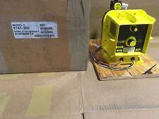 LMI E741-36S (explosion Proof) 20 GPH, 25 psi, PVC