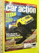 VINTAGE OCTOBER 2002 R/C RADIO CONTROL CAR ACTION MAGAZINE KYOSHO LANDMAX TITAN