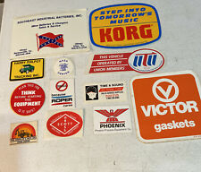 Vintage Equipment vehicle Stickers Used