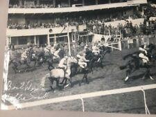 More details for flat jockey willie snaith sign b/w photo rare