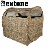 "Flextone Bale Out Hay Bale Ground Blind 3-Man 60"" x 60"" x 60"" Field FLXAY030"