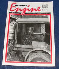 STATIONARY ENGINE MAGAZINE JULY 1989 NO.185 - THOSE ELUSIVE WILSON ENGINES