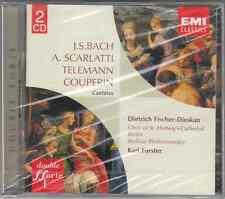 BACH TELEMANN ECC CANTATAS FISCHER DIESKAU FORSTER - 2 CD