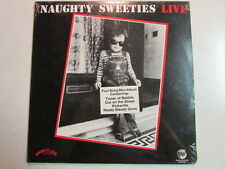 "NAUGHTY SWEETIES LIVE 4 TRACK MINI 12"" LP STILL SEALED NEW DAUNTLESS RHINO LABEL"