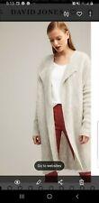 WITCHERY-Size XXS-XS-Grey Soft Mohair/Wool Mix-Cardigan Coat