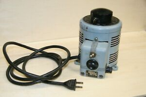 Powerstat variable A/C power source; 0 to 140 volts;