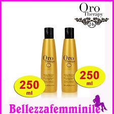 Shampoo per Capelli orotherapy 24k oro puro a base di olio argan  250 ml Fanola