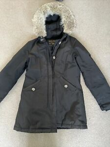 Woolrich Parka Jacket Coat M black