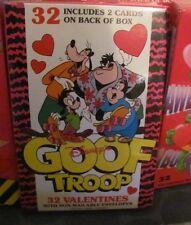 Disney's Goof Troop SEALED box of vintage Valentines cards