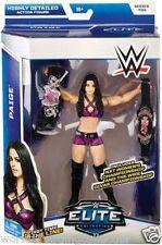 Wwe Elite Paige Series 34 Figure New Mattel First Time Nxt Divas Championships