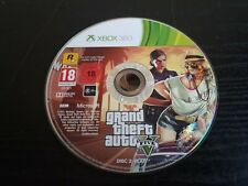 *Play Disc Only* Grand Theft Auto 5 Xbox 360 Video Game PAL