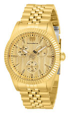 TechnoMarine TM-719019 Sea Dream Women's 38 mm NEW!! 2020 All Gold Watch