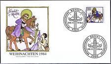 BRD 1984: Heiliger Martin! FDC der Weihnachtsmarke Nr 1233! Bonner Stempel! 159