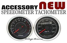BRAND NEW HONDA SPEEDO SPEEDOMETER & TACHO TACHOMETER *ACCESSORY* [P-BLACK]