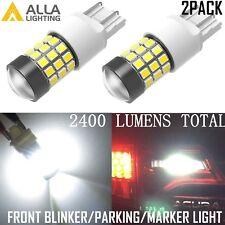Alla Lighting 39-LED 7443 Turn Signal Blinker /Parking Light Bulbs Lamps White