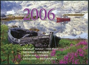 Greenland Official Year Set 2006 MNH Complete with all Stamps Blocks Parcel Post