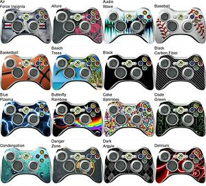 Choose Any 1 Vinyl Decal/Skin for Xbox 360 Controller - Buy 1 Get 1 Free!