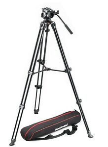 Manfrotto Lightweight Fluid Video Tripod System
