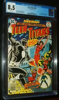 TEEN TITANS #44 1976 D.C. DC Comics CGC 8.5 VF+ White Pages