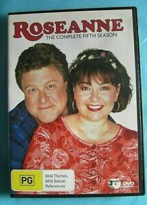 ROSEANNE Season 5 DVD Region 4 see below