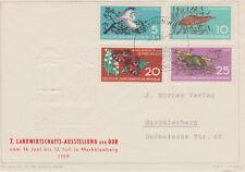 """""""Schützt die Natur""""   Briefumschlag (leer)  SoSt. Berlin W 8   23.6.59.-10"""