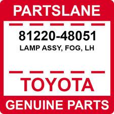 81220-48051 Toyota OEM Genuine LAMP ASSY, FOG, LH
