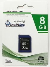 Smartbuy 8GB SDHC Class 4 Flash Memory Card High Speed For Camera Fast Shipping