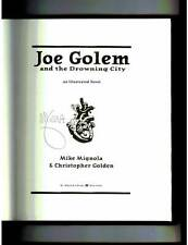 Mike Mignola signed Joe Golem and the Drowning City 1st print HC book Hellboy