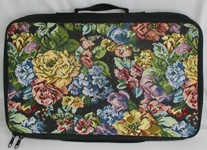 Tutto Tool Holder Black Portable Sewing Quilting Notions Organizer Tapestry Case