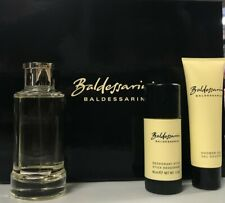 Baldessarini Recharable 2.5 oz men set with deo stick + shower gel