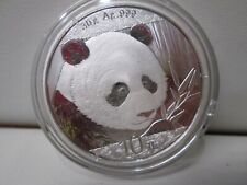 2018 Chinese Panda .999 Silver 10Y 1 Ounce Coin