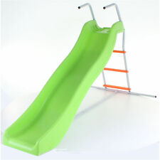 Green & Orange Crazy Wavy Slide & Step Set