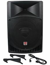 "Rockville Power Gig RPG15 2000W 15"" PA Speaker System"