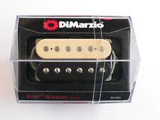 DiMarzio Regular Spaced PAF Master Bridge Humbucker Black/Creme 1 Con DP 261