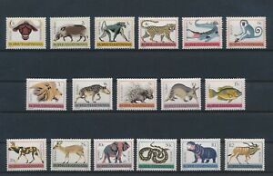 LN53652 Bophutatswana animals fauna flora wildlife fine lot MNH
