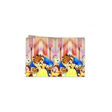 Beauty and the Beast vajilla fiesta desechable Cumpleaños suministros Procos 120cm X 180cm mantel de Plástico (pr884928)