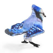 Blue Jay Finger Bird Puppet by Folkmanis 2785