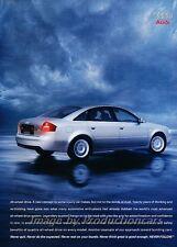 2003 Audi A6 Quattro 2-page Advertisement Print Art Car Ad J854