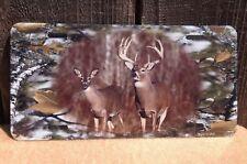 Deer Buck Camouflage Wholesale Novelty License Plate Bar Wall Decor