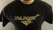 Men Paul Frank Faded Black Yellow Guitar Short Sleeve T-Shirt M California RARE