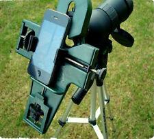 Smart Optix Universal Digiscoping Field Guide Smart Phone Spotting Scope Adaptor