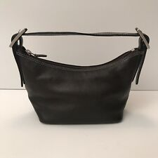 Ili Ny Toronto Brown Leather Small Hobo Bag Purse Rare Style Ln