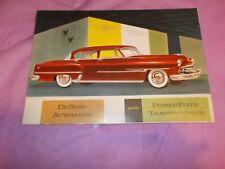 1953 DESOTO SALES BROCHURE!!